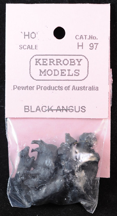 10 x Black Angus HO Kerroby Models KM-H97