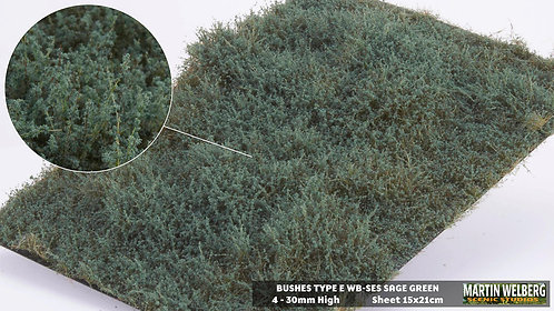 Bushes type E Sage Green Martin Welberg
