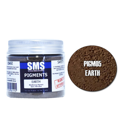 SMS Pigment Earth 50ml SMS-PIGM05