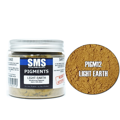 SMS Pigment Light Earth 50ml  SMS-PIGM12