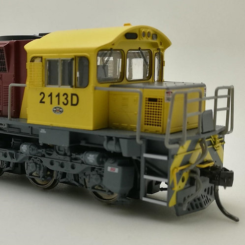 HO Queensland Rail 2100 Class locomotive #2113D Wuiske Models