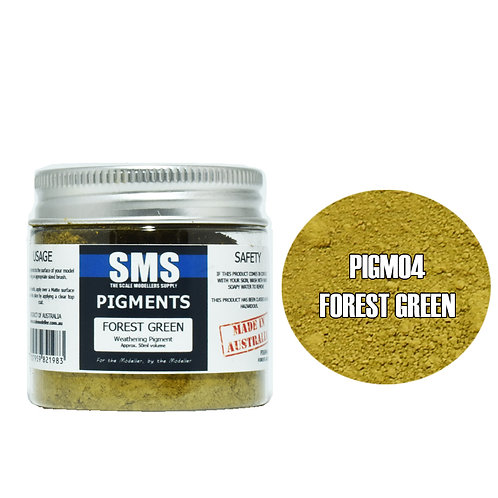 SMS Pigment Forest Green 50ml SMS-PIGM04