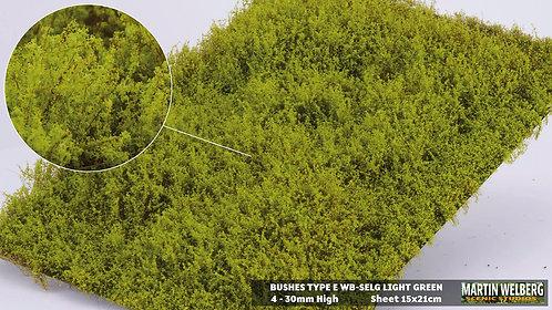 Bushes type E Light Green Martin Welberg