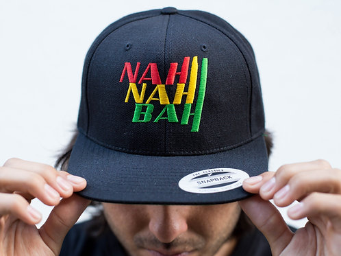 NYC Black Rasta Straight Brim