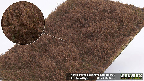 Bushes type F Fall Brown Martin Welberg