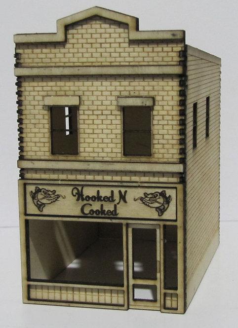 The Fish N Chip Shop HO Scale Trackside Models. SM1064