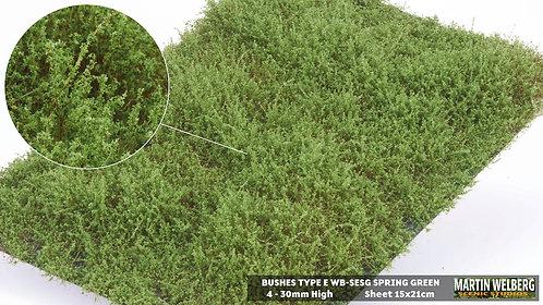 Bushes type E Spring Green Martin Welberg