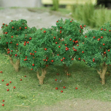 "Apple Tree 2"" to 2-1/2"",  HO scale, 6/pk MP Scenery"