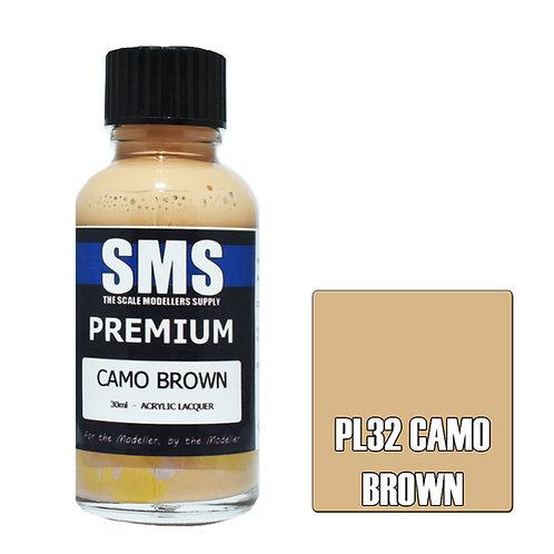 SMS Acrylic Lacquer Premium Camo Brown 30ml SMS-PL32