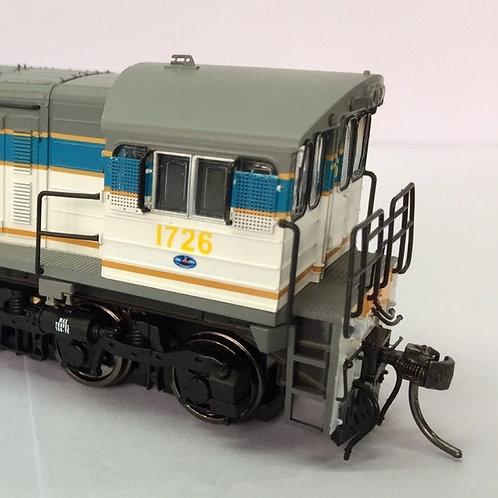 HO Queensland Rail 1720 Class locomotive #1726 Wuiske Models