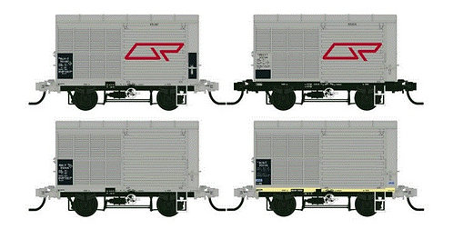 QR ALY09 Steel Louvred Van   VERSION TWO 1980?S Southern Rail Models