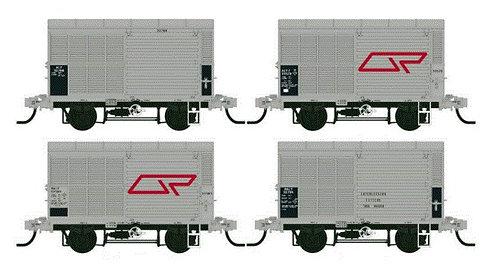 QR ALY04 Steel Louvred Van   VERSION ONE 1980?S Southern Rail Models