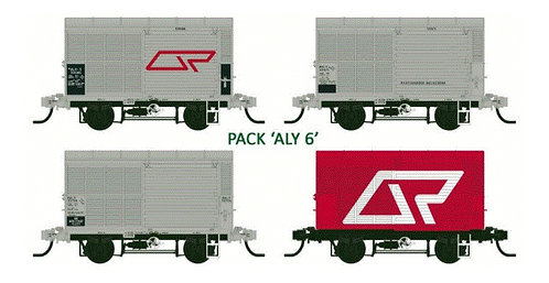 QR ALY06 Steel Louvred Van | VERSION ONE late 1980?S Southern Rail Models