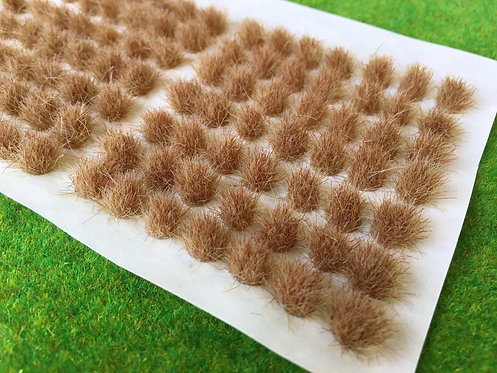 Serious Play Burnt Grass 6mm Standard Tufts (98 per sheet)