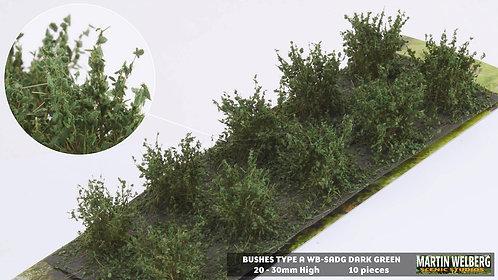 Bushes type A dark green Martin Welberg