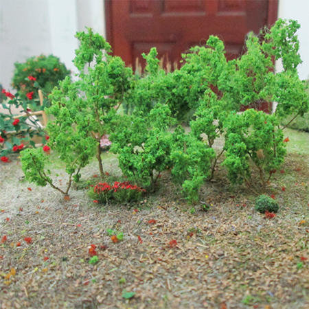 "Light Green Branches 1.5"" to 3"", 50/pk MP Scenery"