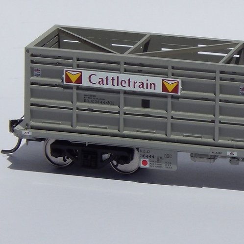 HOn3.5 Queensland Rail KOJX Cattle Wagon Set 4 Wuiske Models