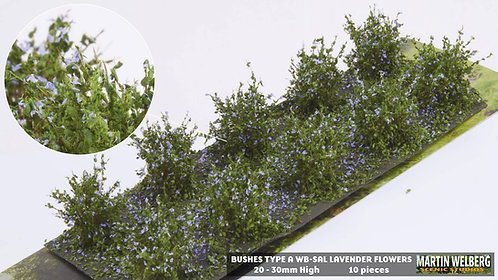 Bushes type A Lavender Martin Welberg