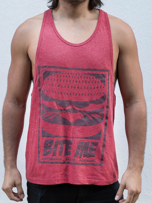 Men/Women Blazed Red Tank