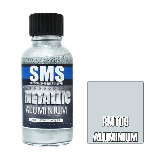 SMS Metallic Acrylic Lacquer Aluminium 30ml SMS-PMT09