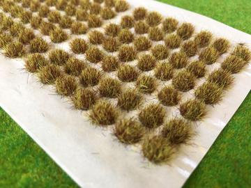 Serious Play Yellow Brown 6mm Standard Tufts (98 per sheet)