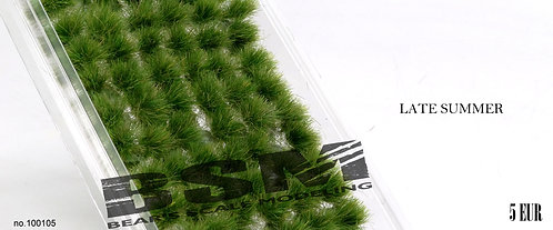 Self Adhesive Grass Tufts Late Summer Tufts Bear's Scale Modelling