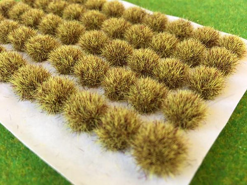 Serious Play Yellow Brown BIG Tufts 7-9mm