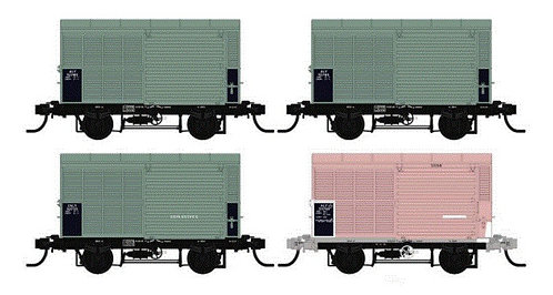 QR ALY03 Steel Louvred Van   VERSION ONE 1970?S Southern Rail Models