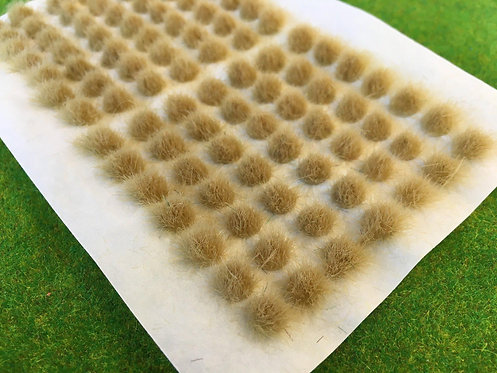 Serious Play Straw 6mm Standard Tufts (98 per sheet)