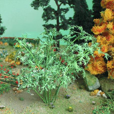 "Bamboo Trees 5-1/2"", Tall O-scale, 4/pk MP Scenery"