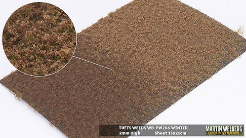Tufts weeds 2mm fall/winter Martin Welberg