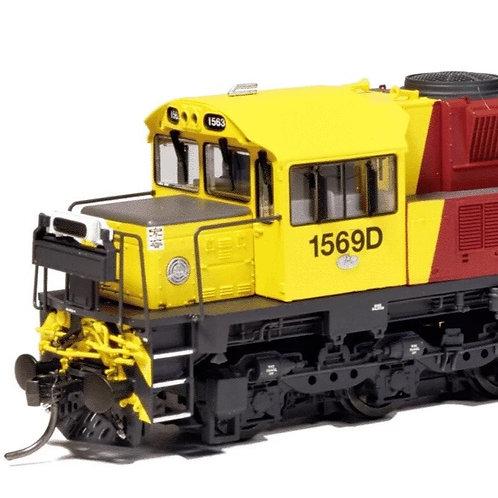 HOn3.5 QUEENSLAND RAIL 1550 loco Q1507 DCC & Sound On Board Southern Rail Models