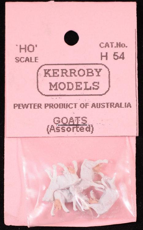5 x Goats Assorted HO Kerroby Models KM-H54