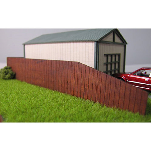 The Timber Fence HO Scale Trackside Models. SM1019