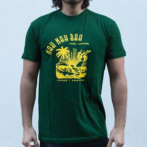 Men Mean Green Aloha Tee