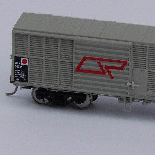 HOn3.5 Queensland Rail QLX Louvre Wagon Set 3 Wuiske Models (3 Pack)