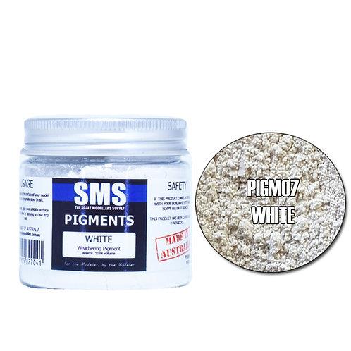 SMS Pigment White 50ml SMS-PIGM07