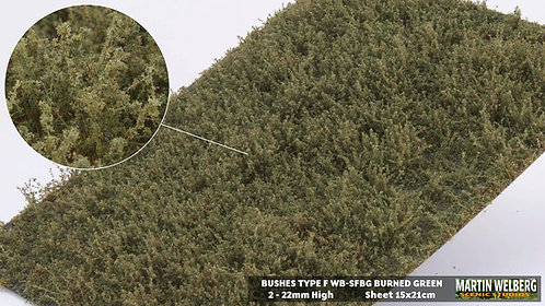 Bushes type F Burned GreenMartin Welberg