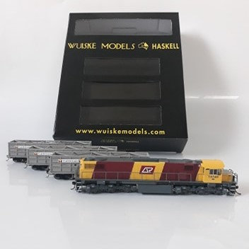 HOn3.5 Queensland Rail Starter Set 03 Wuiske Models