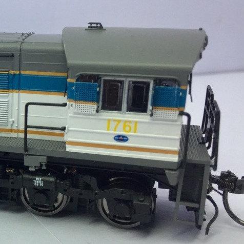 HO Queensland Rail 1720 Class locomotive # 1761 Wuiske Models