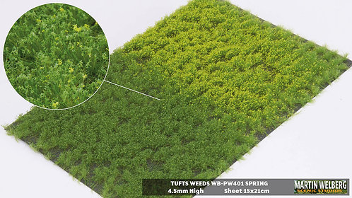 Tufts weeds 4.5mm spring Martin Welberg