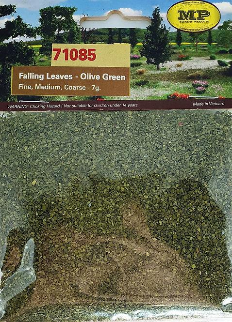 Olive Green Leaves, Bags Fine, Medium and Coarse 9 Cu. In.