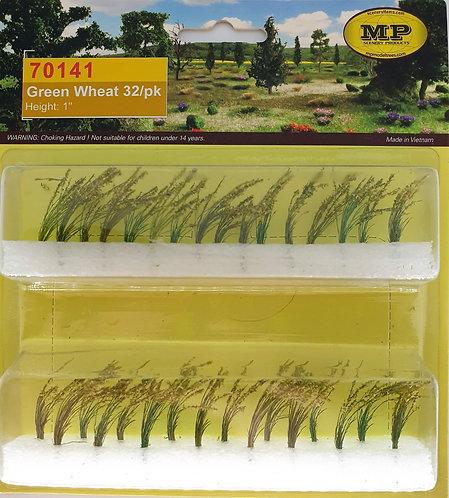 "Green Wheat 1"" Tall HO-Scale 32pk"