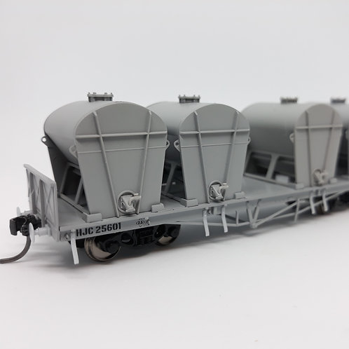 HOn3.5 Queensland Rail HJC Cement Wagon Set 1 Wuiske Models