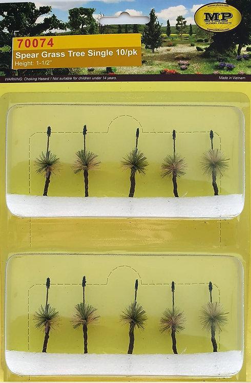 """Spear Grass Tree Single 10/pk 1""""-1.5"""" Tall"""