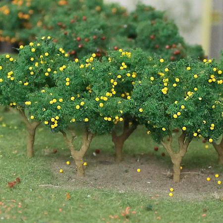"Lemon Tree 1"" to 1.25"", N scale, 6/pk MP Scenery"