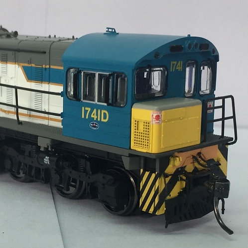 HO Queensland Rail 1720 Class locomotive # 1741D Wuiske Models