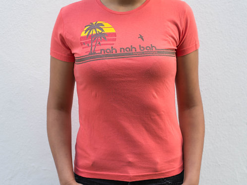 Ladies Peachy Keen Palms Tee