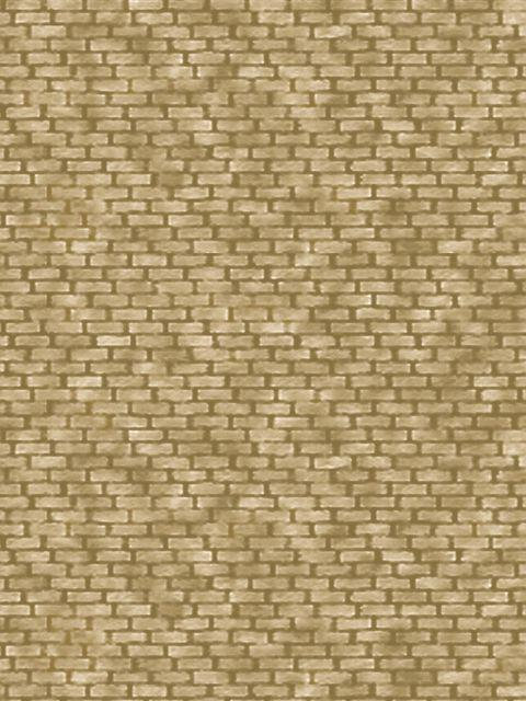 HO/OO Yellow Brick  Building Papers BM05 ID Backscenes