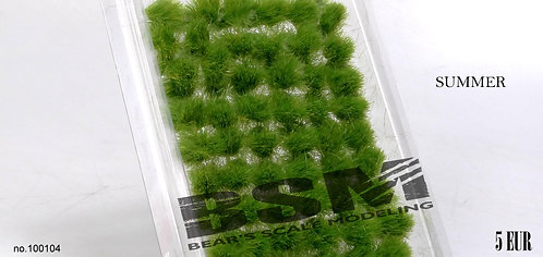 Self Adhesive Grass Tufts Summer Tufts Bear's Scale Modelling